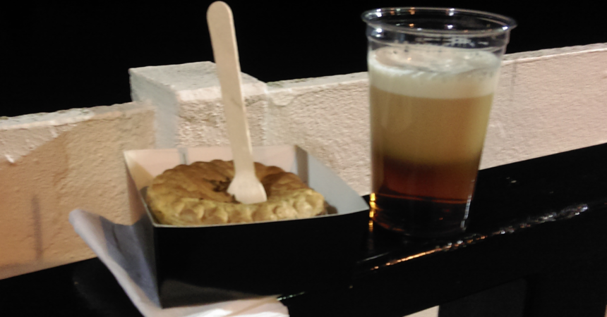 Pint and a pie